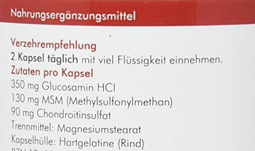 manako 3er KOMBI Kapseln Glucosamin MSM Chondroitin, 300 Stück, Dose 210 g (1 x 300 Kapseln)