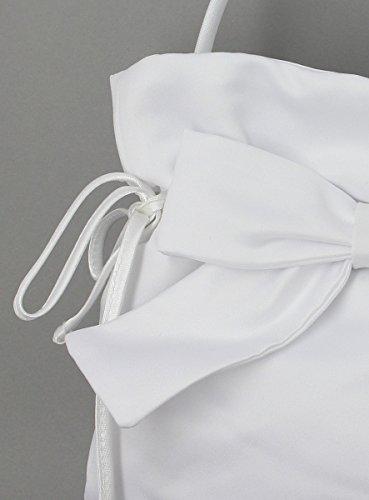 Tasche Brautschmuck mit Schleife Weiß