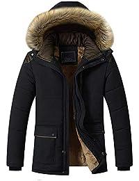 Laisla fashion Giacca da Uomo in Soffice Imbottitura Invernale Imbottita in  Classiche Piumino per Uomo e8835c48291
