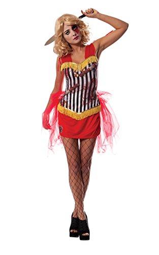 Rubie 's Offizielles Damen Thrower 's Assistant Circus Zombie, Erwachsene Kostüm-Kleine (Circus Kostüme Für Erwachsene)
