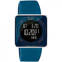 D&G DW0736 - Reloj Unisex movimiento de cuarzo con correa de caucho azul de D&G TIME