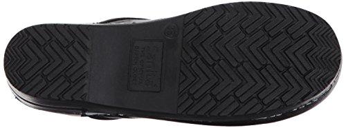 Sanita Womens Professional PU PU Leather Shoes Nero