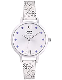 Inara By Gio Collection Analog White Dial Women Watch- G2042-11