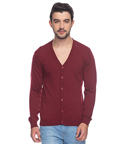 Raymond Dark Maroon Men's Sweater