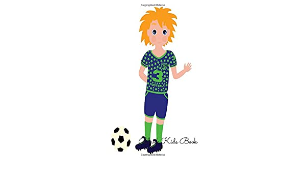 Blank Kids Book Football For Art Artists To Draw Designers Design Sketches Drawing Note Taking Cool Notebook Journal Book Pad Blankfor Kids Children 8 5 Inch By 11in 100 Pages For All Journals