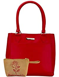 Beloved Trendy Red Handbag Combo 1029COBL