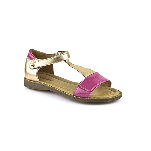 Froddo , Sandales pour fille Rose Bronze and Pink Bronze and Pink