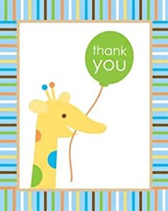 Sweet at One Boy Thank You Cards