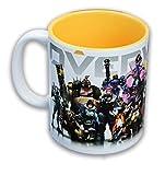 Unbekannt Overwatch Heroes/ Inside Color 12oz Coffee Mug