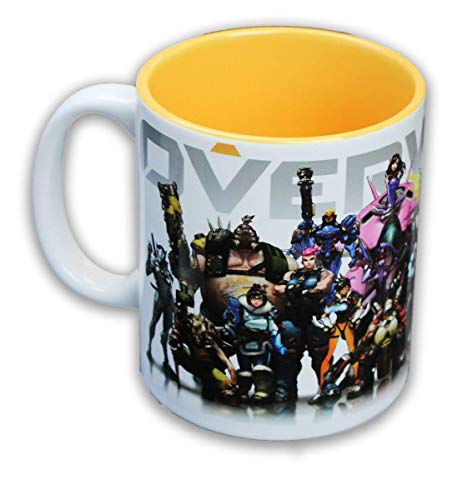 Overwatch Heroes/Inside Color 12oz Coffee Mug