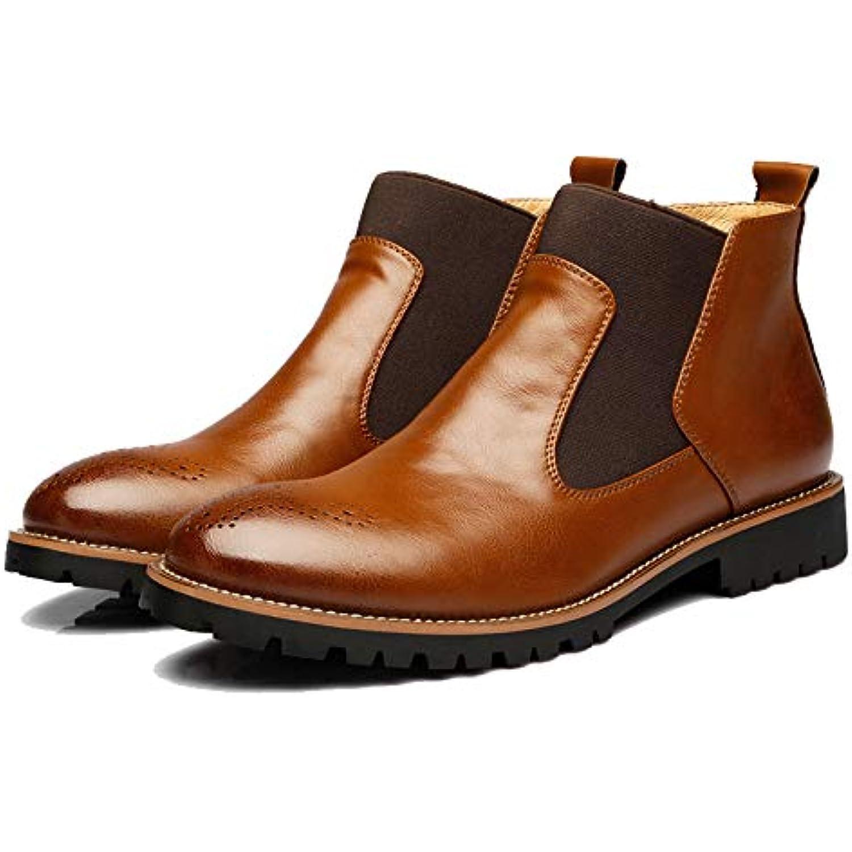 s Vintage Chelsea Boots Chaussures Doublure Doux Martin Bottes Antidérapantes Cheville Bottes Extérieur Casual... - B07HD796G2 - 0df669