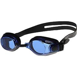 arena Zoom X-Fit Gafas de Natación, Unisex Adulto, Negro (Black / Blue), Única