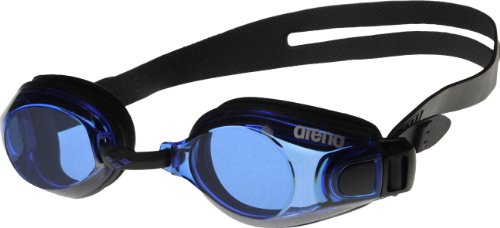 Arena Zoom X-Fit Occhialini Unisex, Nero/Blue Black, TU