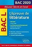 L'épreuve de littérature Bac 2020. Hernani, Victor Hugo. La princesse de Montpensier, Madame de Lafayette / Bertrand Tavernier...