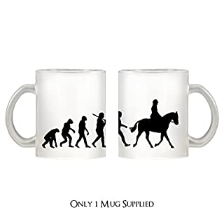 Evolution of a Horse Rider Design, Glas, Tasse