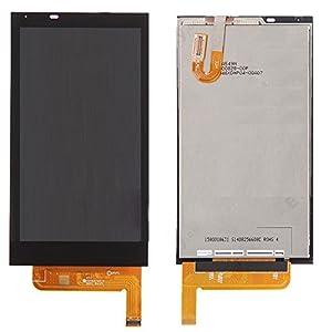 HTC Desire 610 kompatibel LCD Display Touch Screen Glas Scheibe schwarz