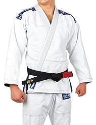 Manto BJJ GI Neo Jiu-Jitsu brasileño GI–Kimono, color blanco, tamaño A2