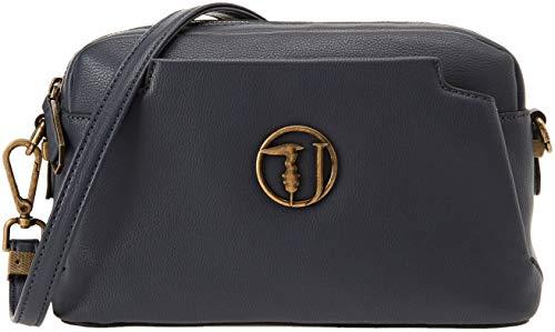 Trussardi Jeans 75B00433-9Y099999, Borsa a Spalla Donna, Blu, 24x16x10 cm (W x H x L)