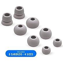 MMOBIEL Set de Puntas de Goma/Almohadillas Auriculares internos de Silicon (Silicona) para