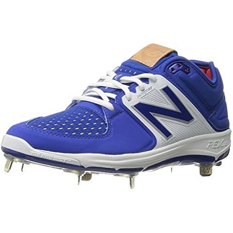New Balance Men's L3000V3 Baseball Shoe, Royal/White,