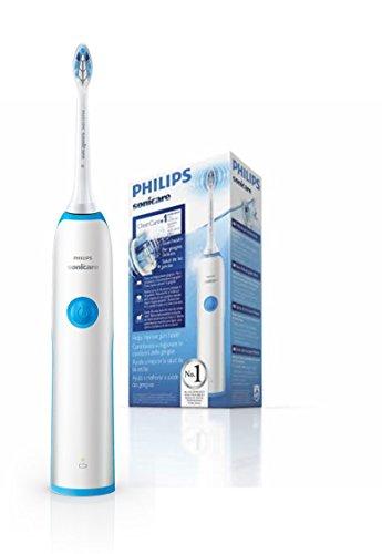 Philips Sonicare CleanCare HX3212/11 - Cepillo de Dientes Electrico, 1 Cabezal, Cargador, Azul