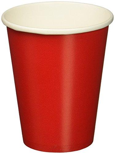Amscan International 68015-40 Lot de 20 gobelets en Papier Rouge Taille Unique