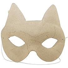Katzenaugenmaske und Fliege Augenmaske Maske Katze Katzenkostüm Fasching Zubehör