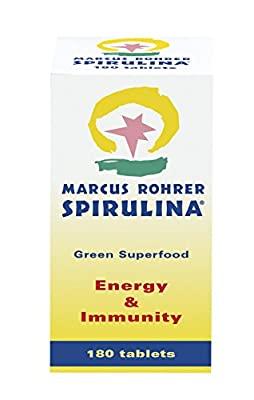 Marcus Rohrer Spirulina - Pack of 180 Tablets by Giuriati Group International BV