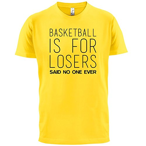Basketball Is For Losers Said Nobody Ever - Herren T-Shirt - 13 Farben Gelb