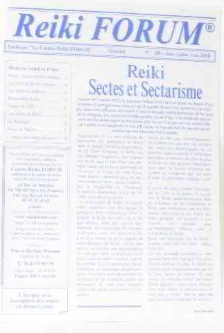 Sectes et sectarisme n°20