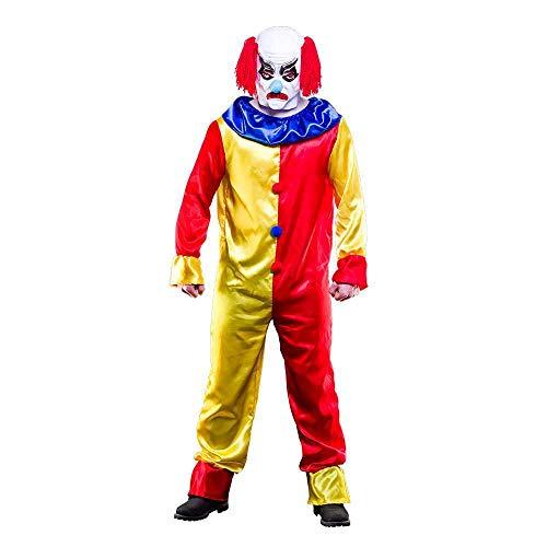 Creepy Clown Plus Size for Fancy dress Costume