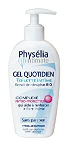 Physelia Gel de Toilette Intime Usage Quotidien 200 ml Lot de 2