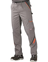 2420 Planam Bundhose Visline zink/orange/schiefer