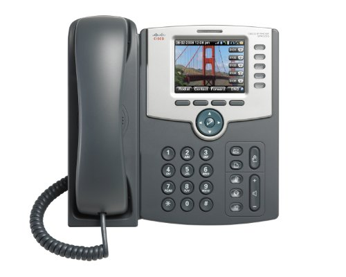 Cisco Small Business Pro SPA525G2 - IP-Telefon mit fuenf Leitungen - PoE - 802.11g Wi-Fi client mode - Bluetooth headset support (Cisco Ip-telefon-headset)