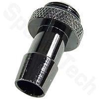 "1/4"" Thread Barb Fitting for 3/8"" ID (10mm) Tubing : Black Nickel"