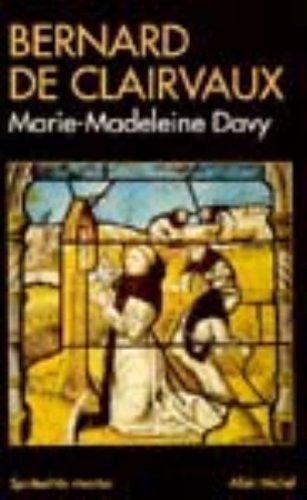 Bernard de Clairvaux par Marie-Madeleine Davy