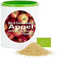 Manzana en Polvo - Liofilizado|biológico|vegano|crudo|pura fruta|no aditivo|rica en vitamina|Good Nutritions 120g