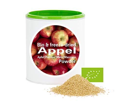 Apfelpulver - Bio Apfel gefriergetrocknet |bio organic| freeze-dried apple| good-superfruit von good-smoothie| 100% frucht |ohne zusatzstoffe + viele Inhaltsstoffe| 120g