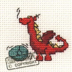 mouseloft-mini-cross-stitch-kit-red-dragon-stitchlets-collection
