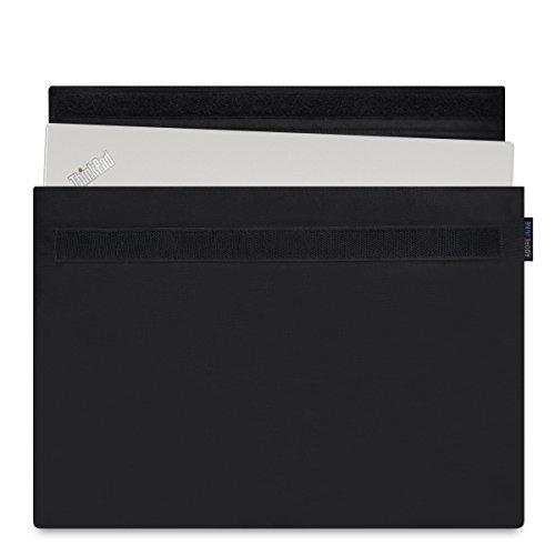 Adore June 14 Zoll Hülle [Serie Classic] Speziell für Lenovo ThinkPad X1 Carbon 2018 2017 Sleeve Tasche aus widerstandsfähigem Textil-Stoff ThinkPad X1 Carbon 6g 5g Case [Schwarz]