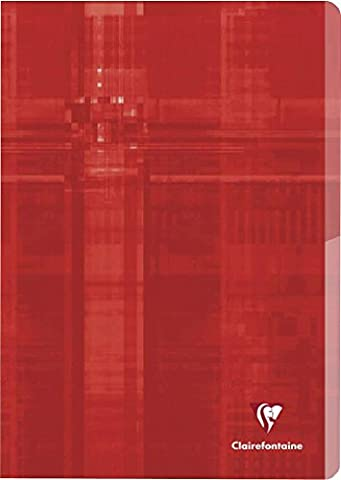 Clairefontaine 63615C Twin Book A4, Lined with Edge, 48 Sheet, Sorted