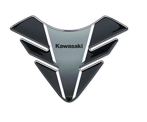 KAWASAKI Z650 Réservoir Pad. Nouveau. Noir Argenté