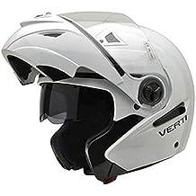NZI 150207G113 Verti Casco de Moto, Color Blanco, Talla 64 (XXXL)