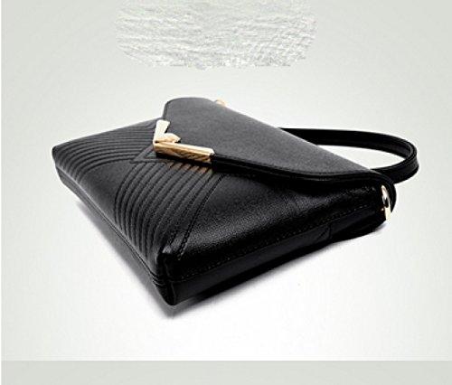 LAIDAYE Damen Handtasche Handtasche Handtasche Handtasche Kleine Tasche Schulter Tasche Messenger Bag Gold