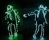 STEAM PANDA Neon Lights Glowing Dance Party Costume Decor Luce Flessibile El Corda Neon Sign Impermeabile LED Strip con Controller Indoor/Outdoor Decorazioni