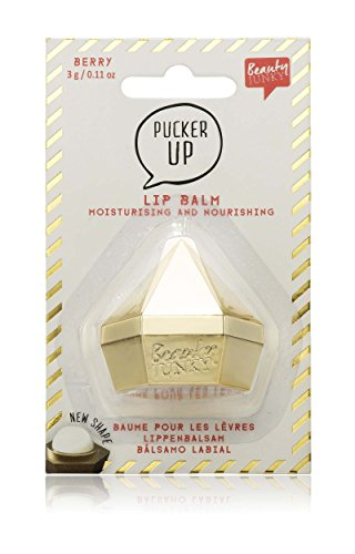 NPL - Lip Gloss Balm - in Diamanten-Dose - Beere - Gold (Stick Lip Mint Balm)