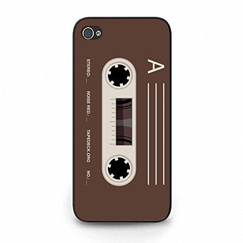 Cassette Tape Iphone 5c Case,Trendy Vintage Magnetic Tape Phone Case Cover for Iphone 5c Magnetic Tape Cool Color158d