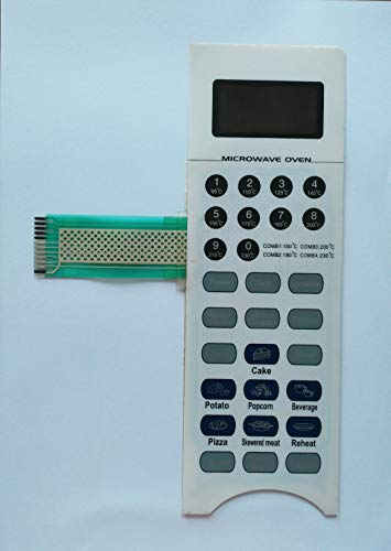 Microwave Oven Membrane Keypad ABLE Model No - GMC32A