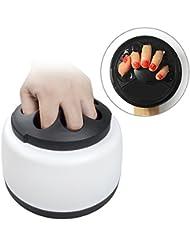 Elera Machine à Vapeur Portable Electrique pour Eliminer Vernis à Ongles à la Maison ou dans les Salons de Beauté