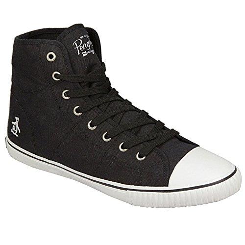 original-penguin-zapatos-de-cordones-para-hombre-color-negro-talla-405